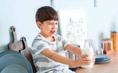 Alergia no IgE mediada a proteínas de leche de vaca