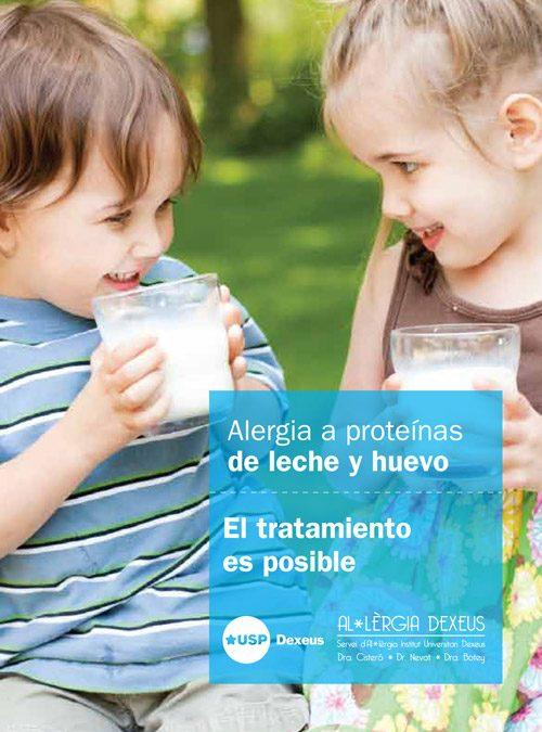 Alergia a la leche y al huevo